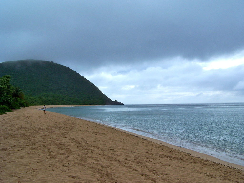 CoffeeMeetsBeach - Best Beaches in Guadeloupe Grande Anse