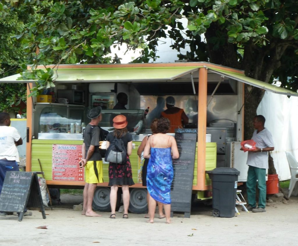 Pam Snack Martinique CoffeeMeetsBeach - Best Food Trucks in the Caribbean