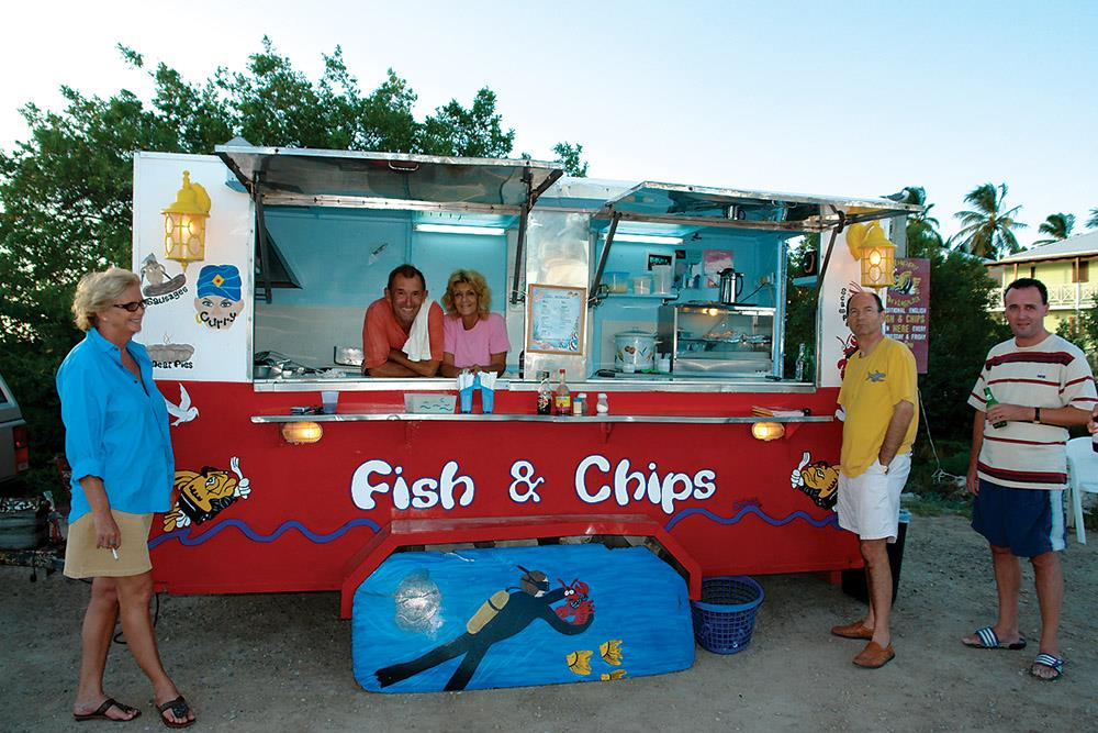 Chippy Antigua CoffeeMeetsBeach - Best Food Trucks in the Caribbean