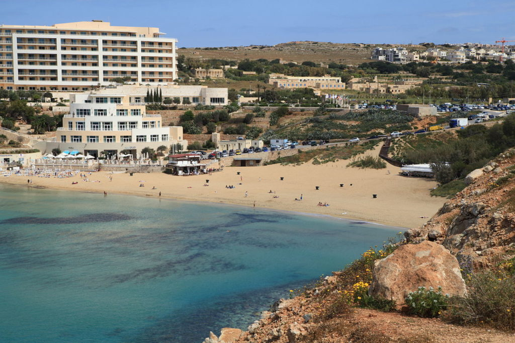 Golden Bay - Best Beaches in Malta- Coffee Meets Beach