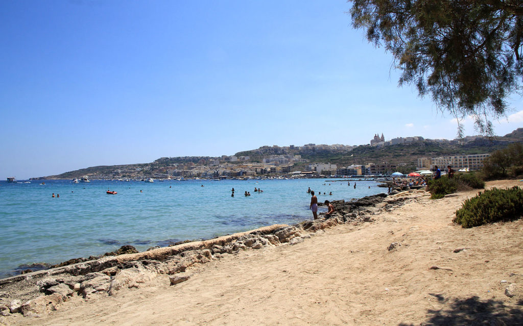 Mellieha Bay - Best Beaches in Malta- Coffee Meets Beach