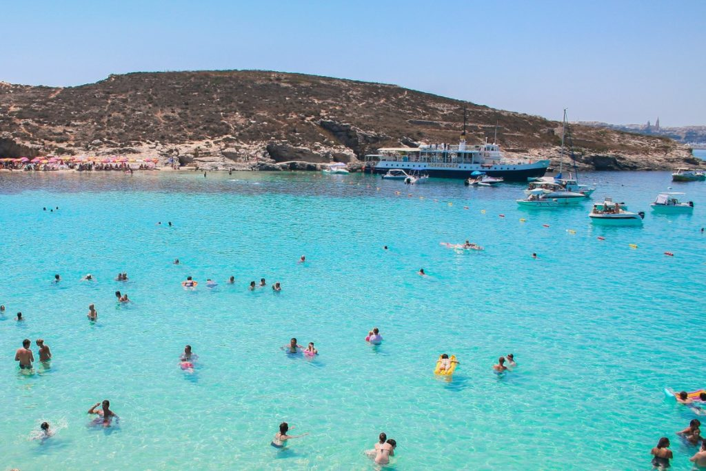 Blue Lagoon - Best Beaches in Malta- Coffee Meets Beach