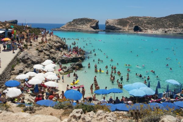 Best Beaches in Malta- Coffee Meets Beach