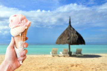 Best Ice Cream in Caribbean - Coffee Meets Beach