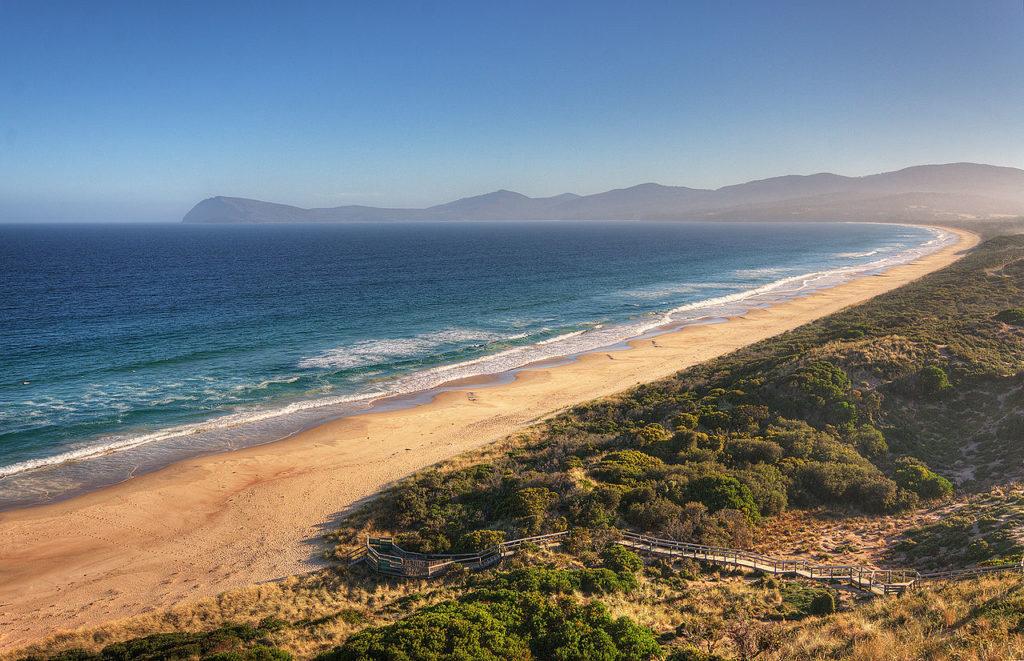 Adventure Bay Bruny Island - Best Beaches in Tasmania- Coffee Meets Beach